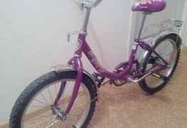 Продам велосипед для девочки 4-9 лет