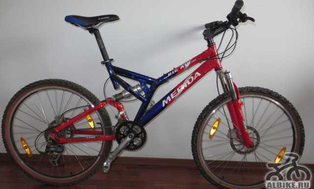 Двухподвеcный велосипед Merida Big Air Pro 2002 г