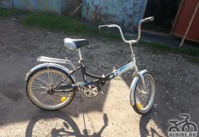 Велосипед складной Стелс Пилот 410