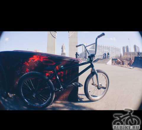 BMX на топовых запчастях