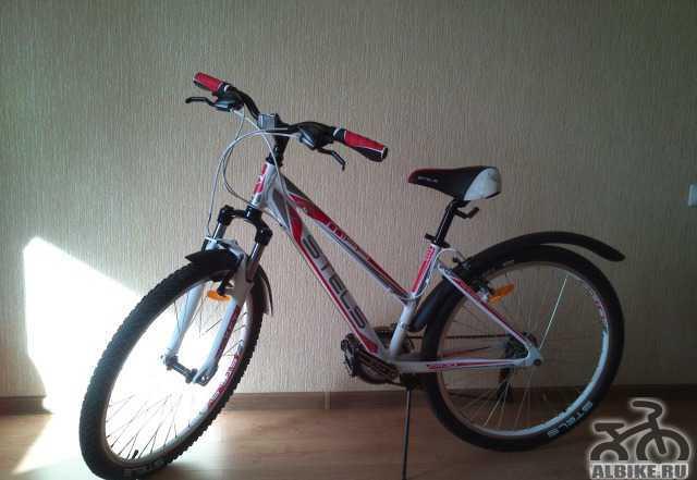 "Женский велосипед Miss Стелс 6100 V 15.5"" 2015"