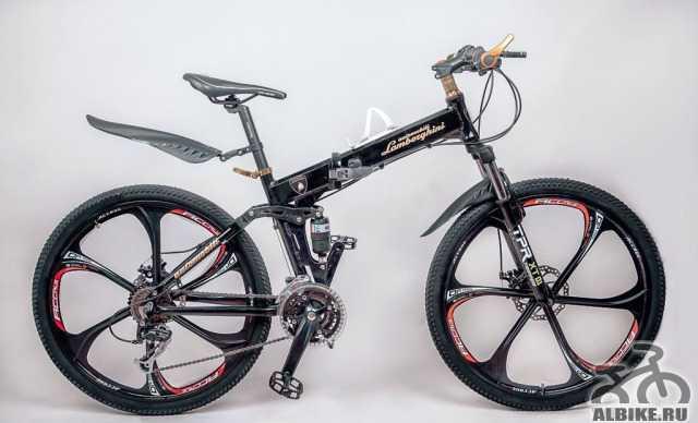 Велосипед Ауди на литых дисках