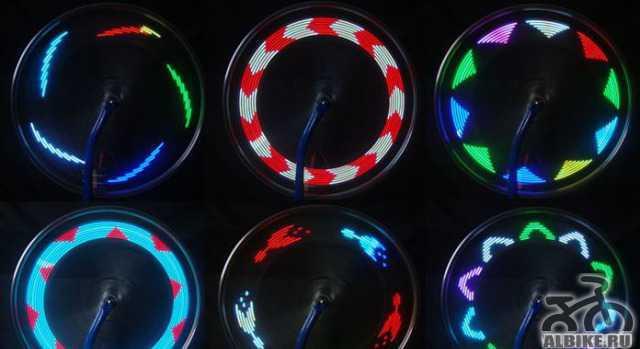Уникальная Светодиодная подсветка колеса