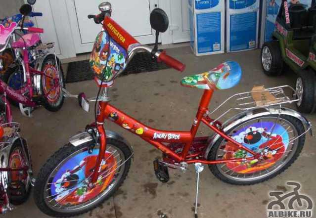 Двухколесный велосипед мустанг 16 Angry Бирд