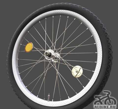 Колеса от старого аиста или детского велосипеда