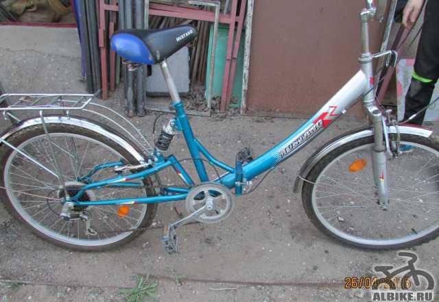 Велосипед дорожный складной 26