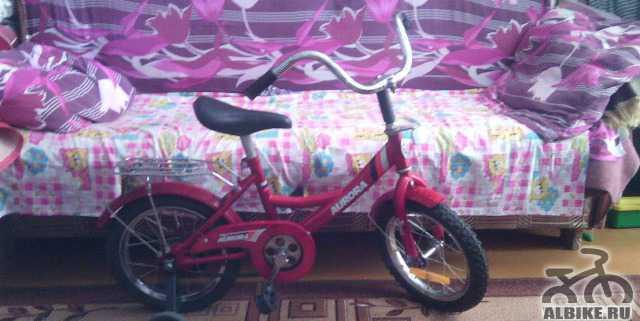 Велосипед детский на возраст 4-6 лет