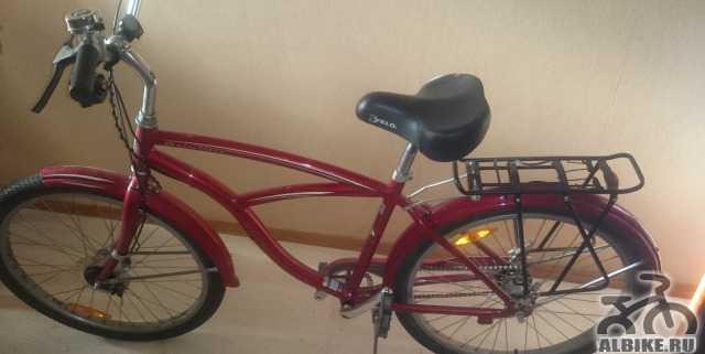 Велосипед Velobig с усиленной рамой (до 160кг)
