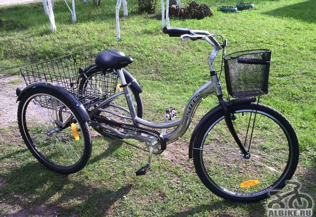 """Велосипед трехколесный """"Стелс"""""""