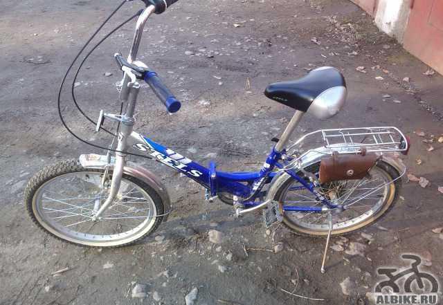 Велосипед Стелс 350 складной (5 скоростей)