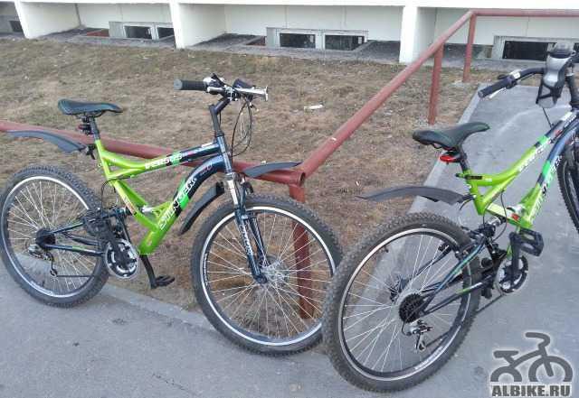 """Продам 2 велосипеда Стингер 26"""" версус SX150D"""