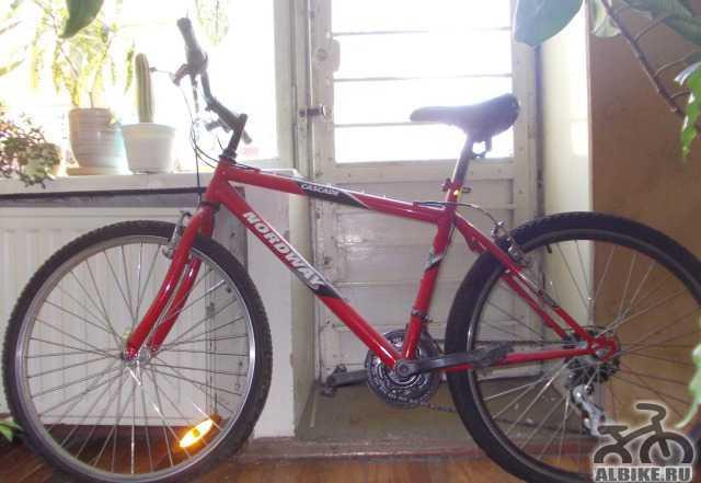 Велосипед горный Nordway cascad б/у