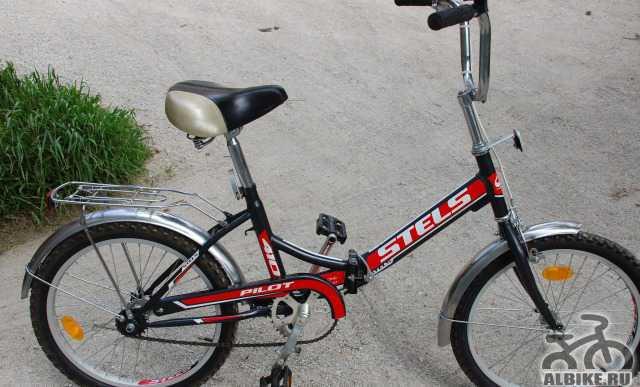Велосипед стелс Пилот 410 (складной )