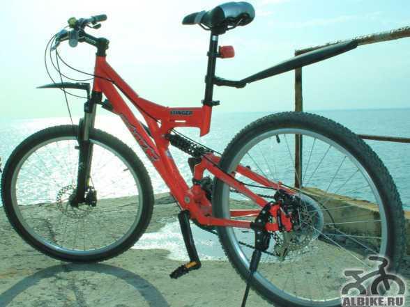 Б/у велосипед практически новый