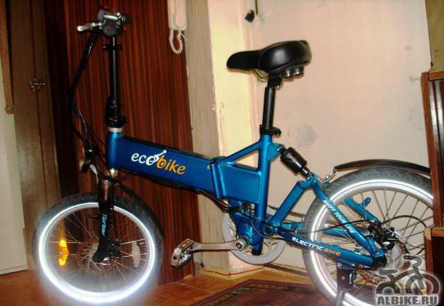 Электровелосипед ecobike F1 Комфорт