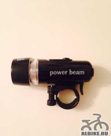 Велосипедный фонарик передний