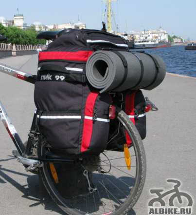 Велорюкзак (велоштаны) пик-99 Трек-90