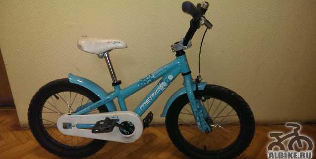 Велосипед Merida Dakar 616 цвет бирюзово-голубой