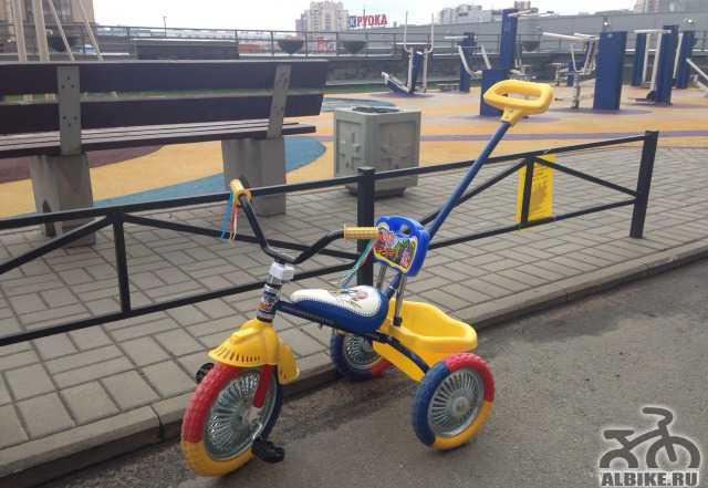 Детский велосипед для маленьких