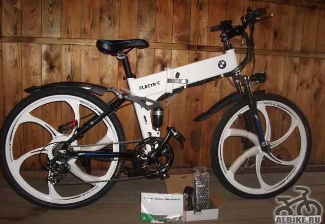 Электровелосипед БМВ