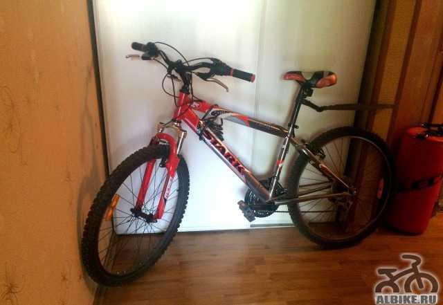 Велосипед Stark Инди красный (+ синий новый.)