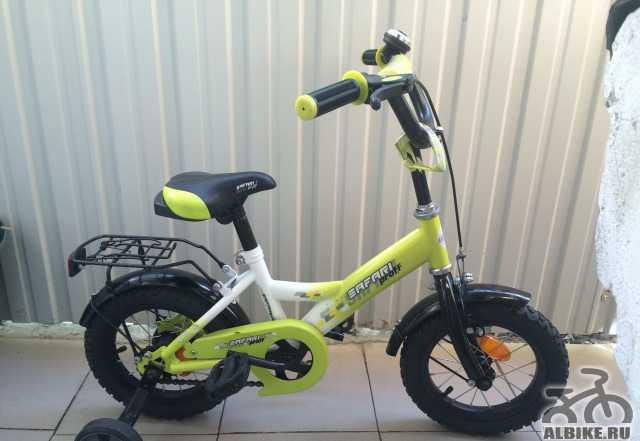 Детский велосипед сафари prof