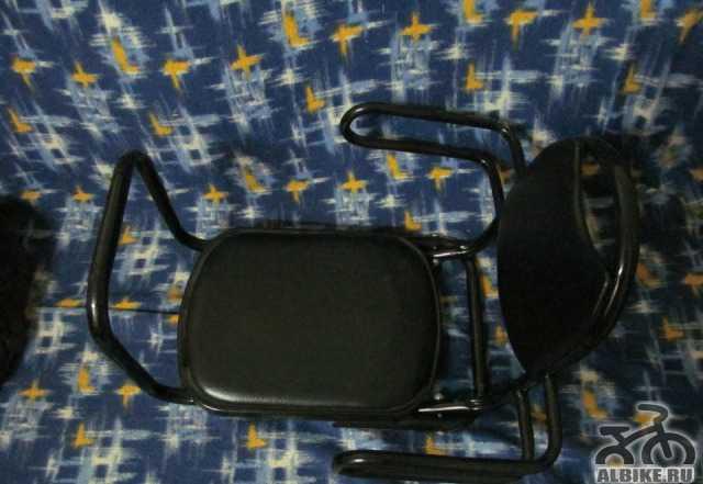 Сидение на багажник для ребёнка