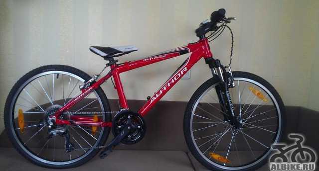 Продам подростковый велосипед, б/у, Author Мираж