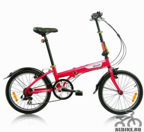 "Складной велосипед b""twin hoptown 3"