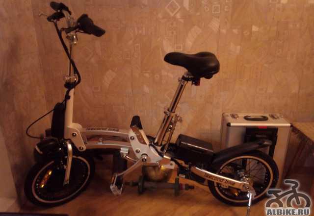 Электровелосипед. новый