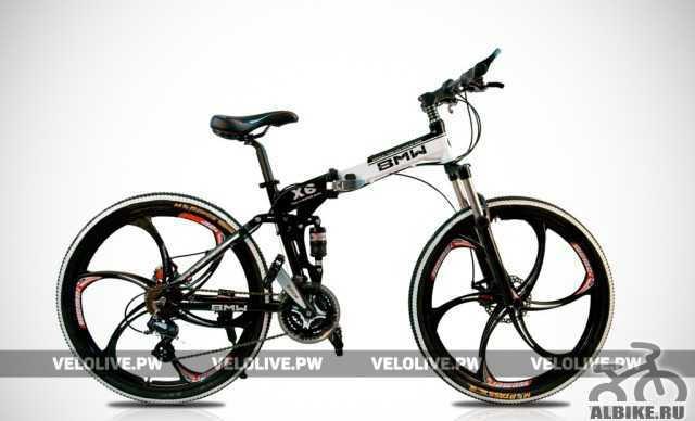 Велосипед на литых дисках БМВ X6