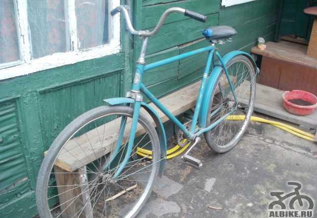 Раритетный велосипед урал
