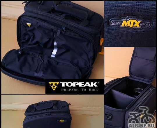 Велосумка на багажник Topeak MTX