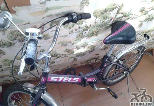 Подростковый велосипед стелс в отличном состоянии