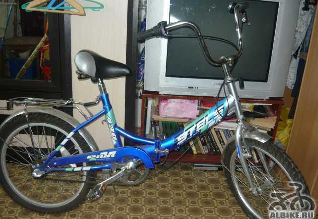 Складной велосипед Стелс Пилот 430