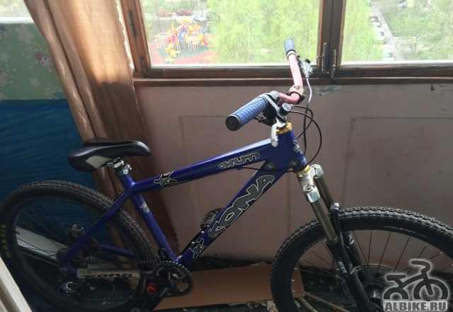 Горный велосипед Kona Chute