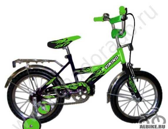 """Детский велосипед """"14. Зеленый. б/у 2700 торг"""