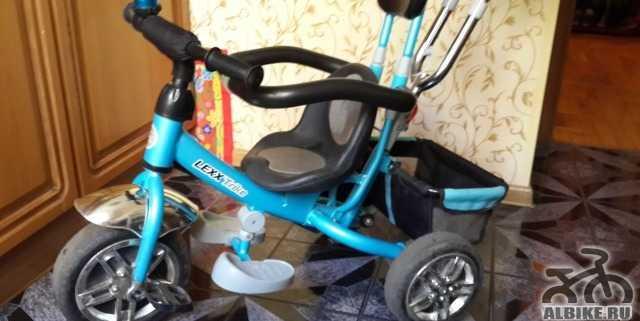 Велосипед 3-х колесный lexx trike 3-ком. пласт. ко