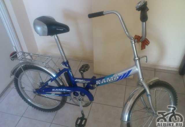 """Складной велосипед """"Кама F200"""" в отличном состояни"""