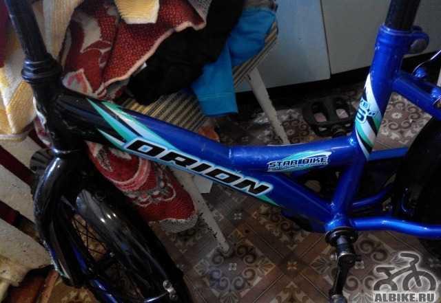 Велосипед детский стелс орион talisman 16