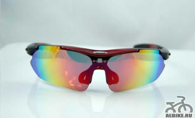 Очки со сменными линзами для велосипедистов