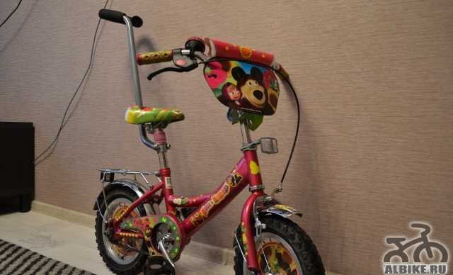 Продам велосипед маша И медведь