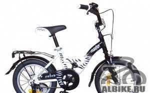 Велосипед сафари zebra