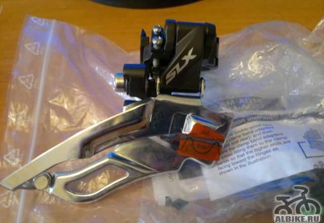 Переключатель передний Shimano SLX FD-M671 3/10ск