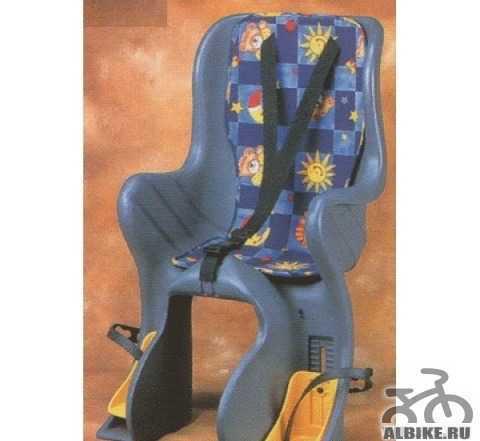 Детское вело кресло на багажник