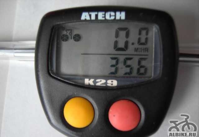 Компьютер велосипедный atech K29