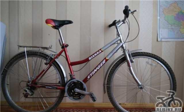 Велосипед женский с колесами 26 дюймов, легкий