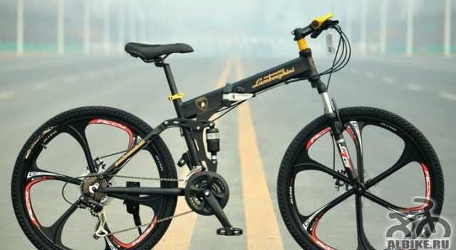 Велосипед Ламборджини на литых дисках