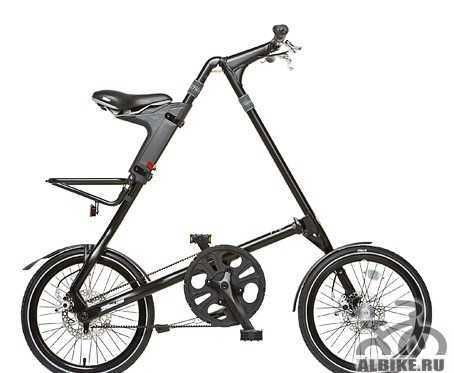 Складной велосипед strida SX черный-матовый(новый)