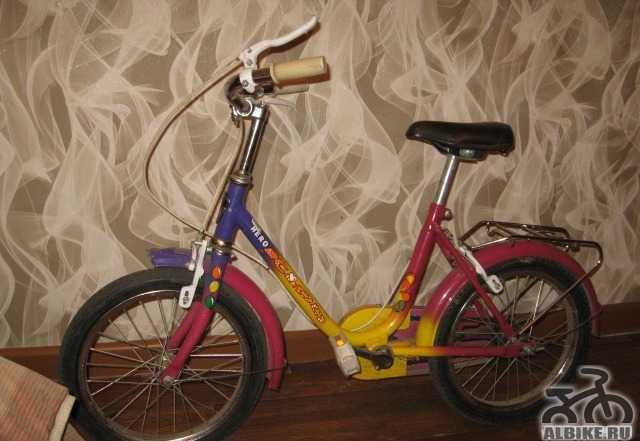 Велосипед для ребенка 2-4 года